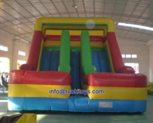 Brend New Inflatable Slide with Carton Printing (A622) pictures & photos