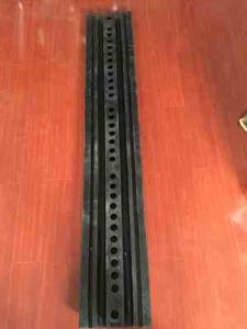 1830mm 2 Channel Rubber Road Speed Bump pictures & photos
