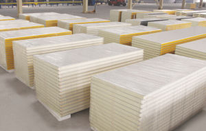 Freezer Room PU Sandwich Panel for Sale Lowest Price pictures & photos