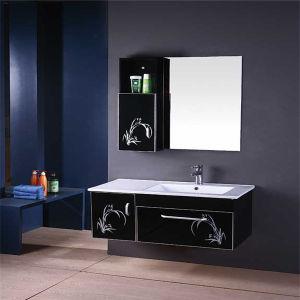 China High Quality PVC Bathroom Wash Basin Cabinet with Side ...
