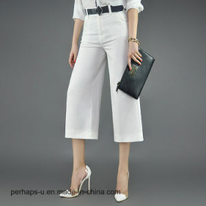 High Quality Ladies Clothes Leisure and Loose Pants pictures & photos