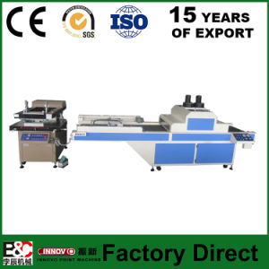 Zx6090PS Silk Screen Printing Machine Plus UV Dryer Robot Arm pictures & photos