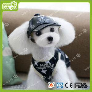 Fashion Leather Black Cap Pet Clothes pictures & photos