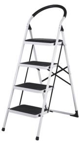 Wide and Safety Steel Household Step Ladder pictures & photos