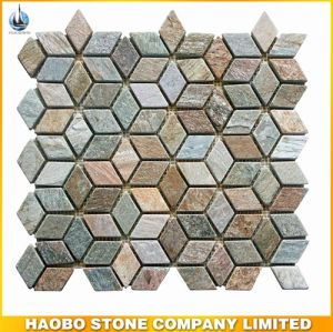 High Premium New Design Pattern Water Jet Marble Mosaic Tile pictures & photos