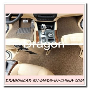 PVC Coil Car Pad With Nail Back pictures & photos