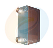 Alfa Laval CB200 Replacement Copper Brazed Flat Plate Heat Exchanger Used for Refrigeration
