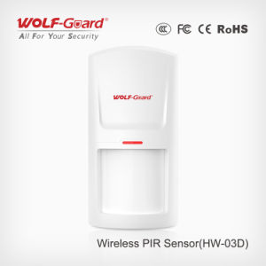Wireless PIR Sensor Motion Detector GSM Alarm PIR Detector Alert pictures & photos