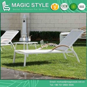 Textile Sunlounger Sling Sunlounger Beach Lounge Patio Lounge (Magic Style) pictures & photos