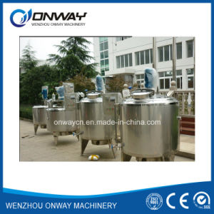 Pl Stainless Steel Jacket Emulsification Mixing Tank Oil Blending Machine Mixer Sugar Solution Agitator Mixer pictures & photos