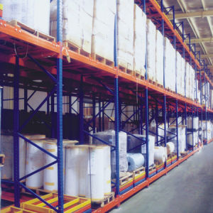 Warehouse Storage Push-Back Racking pictures & photos
