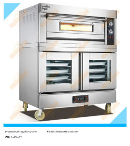 Electric Bread Deck Oven with Electric Proofer (102DF) pictures & photos