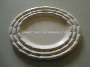 New Design Household Daily Promotion Oval Plastic Tray