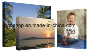 "Cotton Blank Canvas Advertising Material Fabric Painting (36""X60"" 3.8cm) pictures & photos"