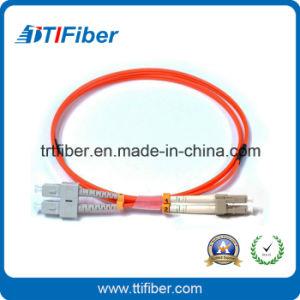 Sc-LC mm 62.5/125um Dx Fiber Optic Cable, Lszh, 3.0mm pictures & photos