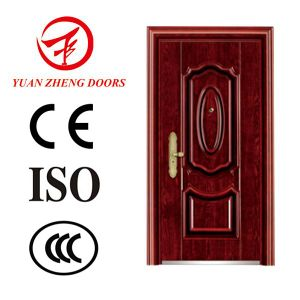 Wuyi Supplier Used Exterior Stainless Steel Security Door pictures & photos