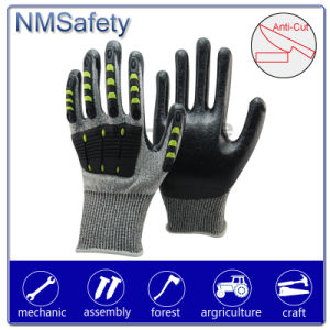 Nmsafety Cut & Impact Resistant Mechanic Glove pictures & photos