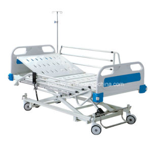 Hot Sales Three Functions Electric Hospital Bed with Cheap Price pictures & photos