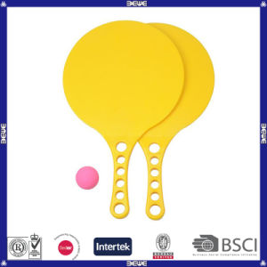 Yellow Color Plastic Beach Racket pictures & photos