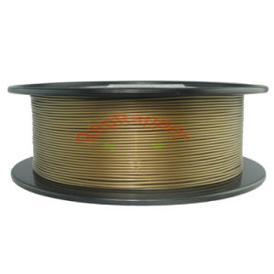 Well Coling PLA 1.75mm Gold 3D Printing Filament pictures & photos