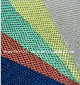 Different Color Sandwich Air Mesh Fabric for Chair/Shoes (F55) pictures & photos