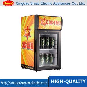 21L Cold Drink Glass Door Mini Countertop Display Cooler pictures & photos