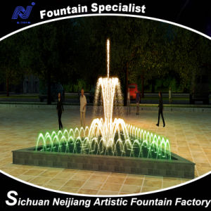 Music Water Fountain for Small Triangle Pool