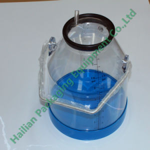 32L Transparent Milk Collection Bucket with Lid pictures & photos