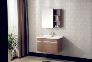 Multi-Layer Solid Wood Bathroom Cabinet