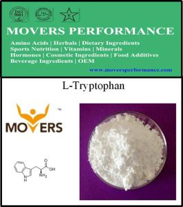 Factory Supply Amino Acids Food Grade L-Tryptophan CAS: 73-22-3. pictures & photos