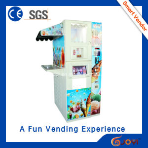 New Design! ! ! Touch Screen Vending Machine for Ice Cream Maker