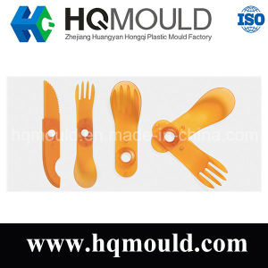 Plastic Folding Tableware Injection Moulding pictures & photos