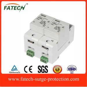 china new design single phase classC 80KA 2P power supply surge arrester pictures & photos