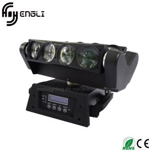 Professional 8*10W LED Moving Head Beam Stage Lighting (HL-016YT)