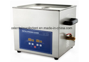 CE Approved 20 Liters Dental Steam Ultrasonic Cleaner (OM-JS015) pictures & photos