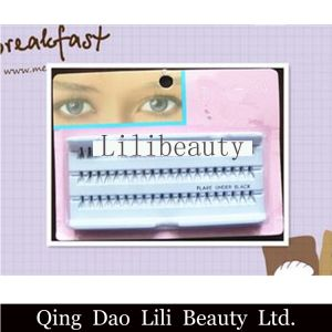 Lili Beauty Costom Individual Korean False Lash Eyelash Extensions with Packaging Box pictures & photos