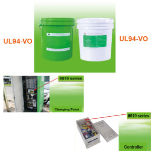 UL94-V0 Electronic Silicone Rubber Two Component Silicone Sealant Potting LSR pictures & photos