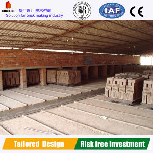 Tunnel Dryer in Hollow Brick Production Line pictures & photos