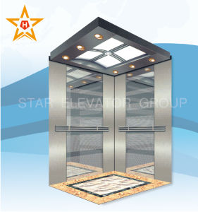 450kg 6 Person Passenger Elevator with USA Technology