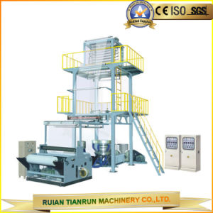 Double-Layer Co-Extrusion Rotary Die Film Blowing Machine (TR-2L/FB1100) pictures & photos