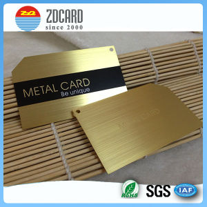 Customized Personal Metal Business Card pictures & photos