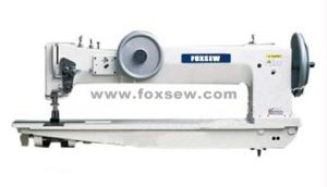 Long Arm Compound Feed Walking Foot Lockstitch Sewing Machine for Tents pictures & photos