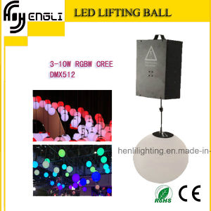 Color Changeable RGB DMX LED Lifting Ball for Stage (HL-054) pictures & photos