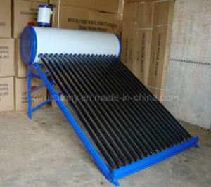 Evacuated Tube Solar Water Heater with 5L Assistant Tank pictures & photos