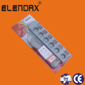 6-Way Individual Switch Extension Power Cord (E6006EIS) pictures & photos