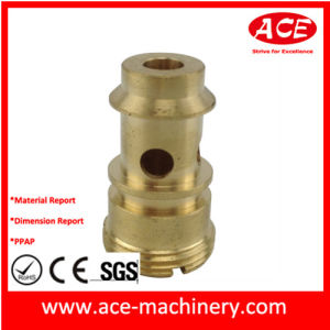 CNC Machining of Copper H59 Fitting pictures & photos
