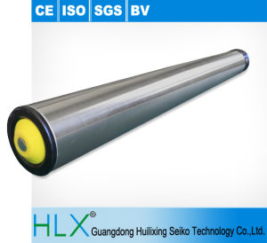 Galvanized Conveyor Roller in Hlx pictures & photos