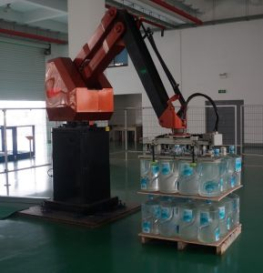 Fertilizer/ Manure Palletizing Robot with CE pictures & photos