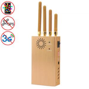 GSM CDMA Dcs PCS 3G GPS High Power Portable Mobile Phone Signal Breaker Jammer Isolator