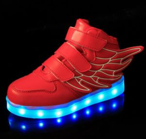 OEM New Design LED Flashing Lights Shoe pictures & photos